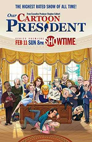 Our Cartoon President - hulu plus