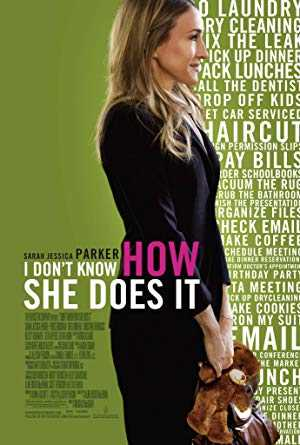 I Dont Know How She Does It - netflix