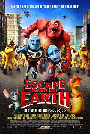 Escape from Planet Earth - netflix