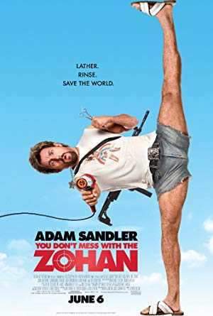 You Dont Mess with the Zohan - netflix