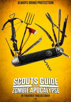 Scouts Guide to the Zombie Apocalypse - hulu plus