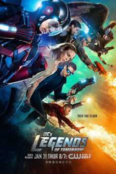 DCs Legends of Tomorrow - HULU plus