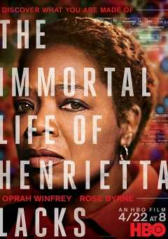 The Immortal Life of Henrietta Lacks - hbo